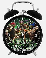 """Teenage Mutant Ninja Turtles Alarm Desk Clock 3.75"""" Home Office Decor A473"""