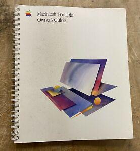 Apple Macintosh Portable Owner's Guide P/N: 030-3280-B VERY RARE!