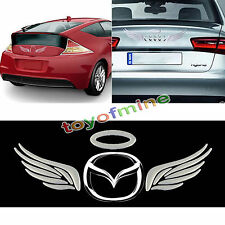 Hot 1X 3D Angel Fairy Wings Car Auto Truck Logo Emblem Badge Decal Sticker Decor