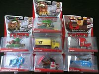 LOT DISNEY PIXAR CARS  DELUXE FRANCESCO FAN  KABUKI DUSTIN DINOCO ELVIS MACK