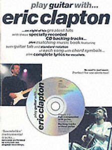 Play Guitar with... Eric Clapton (Music), , Good Condition Book, ISBN 9780711933