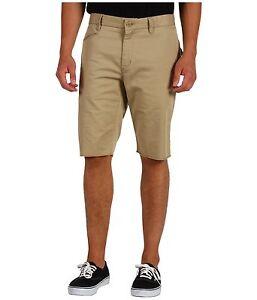 Fox Solid State Dark Khaki Walkshorts Size 34 Brand New with Tag