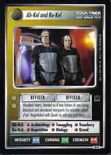 STAR TREK CCG HOLODECK RARE CARD AH-KEL AND RO-KEL