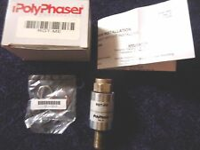 POLYPHASER RGT-ME IMPULSE SUPPRESSOR DC TO 2.4 GHZ BROADBAND DC PASS PROTECTOR