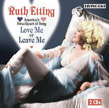 Love Me Or Leave Me, Etting, Ruth, Acceptable Dual Disc