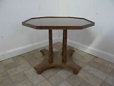 Drexel heritage faux bamboo regency lamp end table Hollywood B