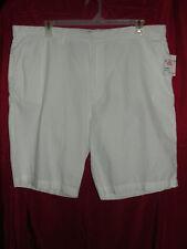 Mens G & M Garment District White Chino Shorts - Size 40 - NWT