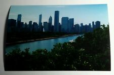 CHICAGO SKYLINE WATER ILLINOIS FULL COLOR 4x6 PHOTO PICTURE PHOTOGRAPH