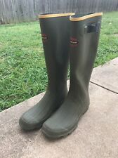 "Lacrosse 150040M-11 Men's OD Green 18"" Grange Rubber Hunting Boots-Size 11"