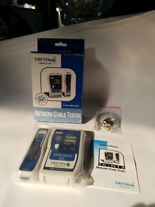 TRENDnet Network Cable Tester #TC-NT2 New Sealed W/Box