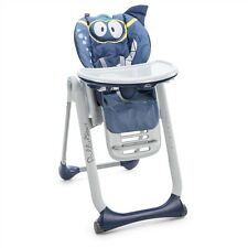 CHICCO Seggiolone Polly 2 in1 Start Shark 0-3anni High Chair Hochstuhl