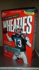 UNOPENED Wheaties Miami Dolphins Dan Marino Record Breaker Cereal Box 1995