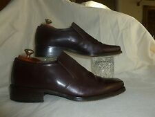 SHELLYS  CHOCOLATE BROWN  LOAFERS  SIZE UK 9 EU 43 MADE IN ITALY