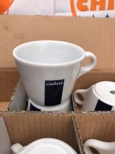 6 X Lavazza Cappuccino Porcelain Cups Only Blue Collection 20002131