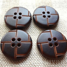 BUDDHIST ROBE MUST! SWASTIKA SIGN BUTTON X 4 FOR MONK OR BUDDHIST CLOTHING =
