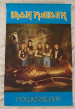 Iron Maiden 1984 Poster Powerslave Funky