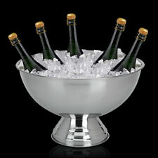 Sektkühler Champagnerkühler Weinkühler Flaschenkühler Champagnerschale Edelstahl