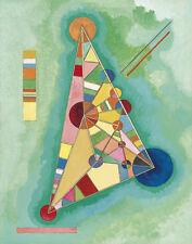 Kandinsky Wassily Streak In The Triangle Canvas 16 x 20    #4945
