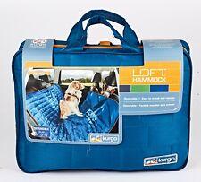 *Kurgo Loft Hammock Dog Car Seat Cover Reversable Blue/Grey