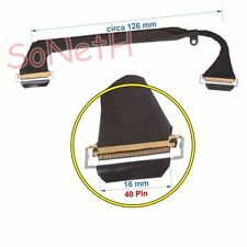 "Cavo LCD Cable Flat Flex Apple MacBook Pro Core 2 Duo 2.80 15"" SD MB986LL/A"