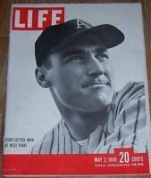 Life Magazine May 2, 1949 Arnold Galiffa Ingrid Bergman Television Bayou Braque