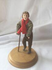 "A Christmas Carol TINY TIM figurine  5.25"" tall Hallmark"