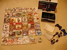 PS3 Game Lot Playstation 3 Console 36 PS3 Games Box Manuals Case RPG Shooter