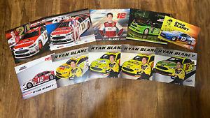 Ryan Blaney Hero Post Cards LOT (10) Penske Racing, Wood Bros