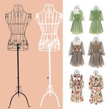Adjust Female Mannequin Stand Designer Pattern Metal Model Tailor Display UK
