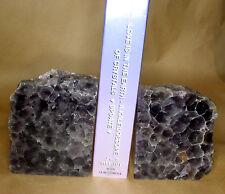 Amethyst Gemstone Natural Crystal Bookends, Minas Gerais, Brazil (EA7021) pair