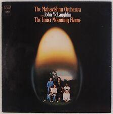 MAHAVISHNU ORCHESTRA: Inner Mounting Flame John McLaughlin Jazz Fusion Insert LP