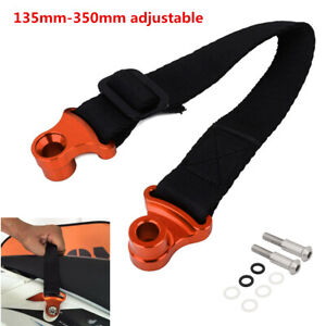 -XN1PC Universal CNC Adjustable Motocycle Bike Rear Rescue Pull Belt Tow Strap