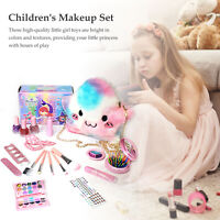 Makeup Case Beauty Make-up Set Cosmetic Toy Pretend Play Kids Girl Gift
