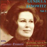 GUNDULA JANOWITZ VOL. 1 NEW CD