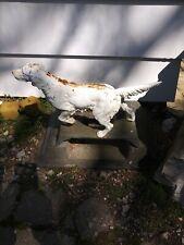 Antique Cast Iron Boot Scraper Retriever Irish Setter English Pointer Dog