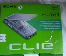 Sony Clie Palm Peg-Tg50 Handheld Bluetooth Complete, high resolution blacklit