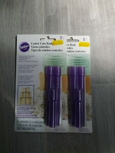 Wilton Centre Core Rods. Brand New. Keeps tiered cakes straight and upright.