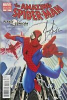 Amazing Spider-Man #623 Planet Comicon variant Signed by Joe Jusko W/COA NM.