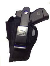 Pro-Tech Outdoors Gun Holster fits Accu-Tek 380 Black Nylon OWB Ambidextrous