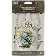 """Finnabair Decor Moulds 5""""x8""""-cogs & Wings"""