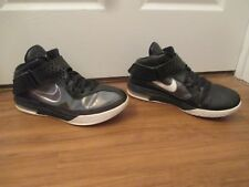 ace16fc3f7f Used Worn Size 13 Nike LeBron Air Max Soldier V 5 Shoes Black Anthracite  White
