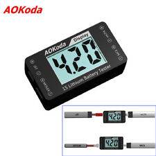 AOKoda AOK-041 1S Lithium Battery Tester Checker For JST MOLEX mCPX MCX Cable