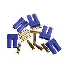 5 Pairs EC5 RC Lipo Battery Connector Gold Banana Bullet Plug Male&Female