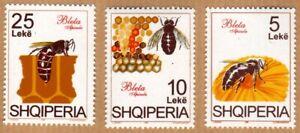 Albania 1995 Complete Set MNH Michel Catalog nº 2558/60 ***