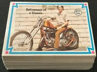 1974 Scanlens Choppers & Hot Bikes 65 of 66 Cards Excellent to Near Mint