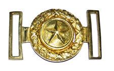 American Civil War Confederate CS Texas Star Texan Brass Belt Buckle 9x6cms
