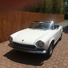 1967 124 Fiat Spider  Serial #AS0000008..