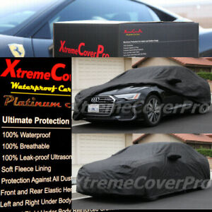 2014 Audi A8 S8 A8L Waterproof Car Cover w/ Mirror Pocket
