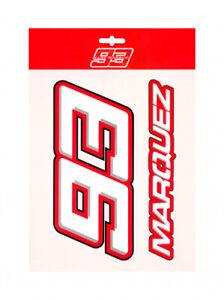 Official Marc Marquez Large 93 Marquez Sticker - 20 53020