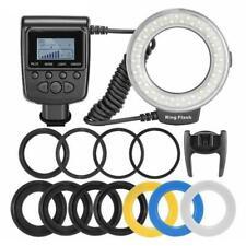 Macro 48pcs LED Ring Flash Light RF550D for SONY Nikon Canon Olympus Camera DR